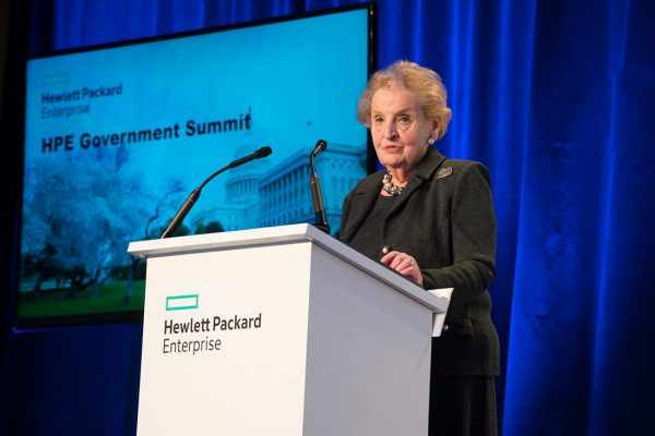 Madeleine Albright Former United States Secretary of State