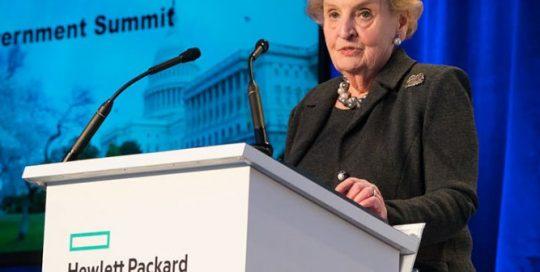 Madeleine Albright Former United States Secretary of State