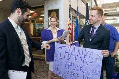 Advocacy Day Photography meeting with Senator Chuck Schumer