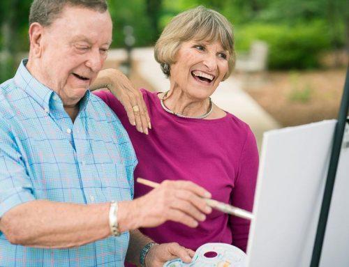 Lifestyle Photography Redefines Senior Living Community Ads