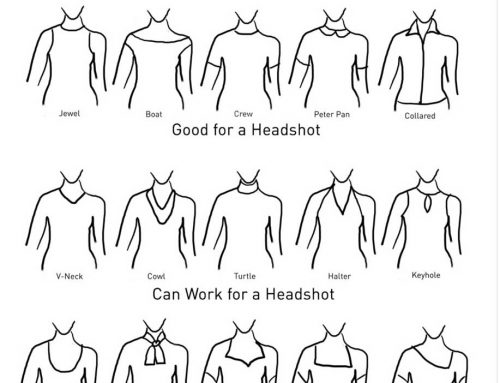 Women's Headshots: What to wear for your professional headshot