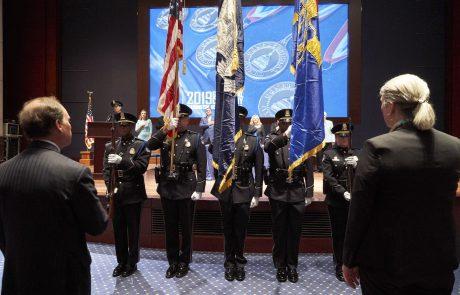 Congressional Awards Ceremony, Presentation of Colors. Washington DC
