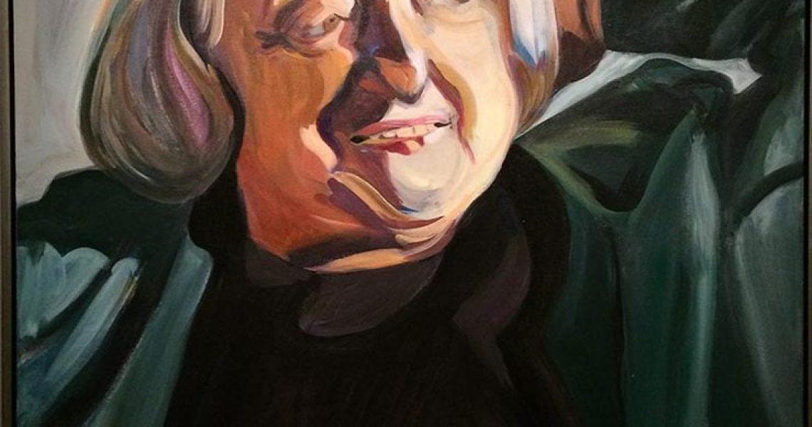 Portrait Betty Friedan. International Womens Day 2018 Washington Dc